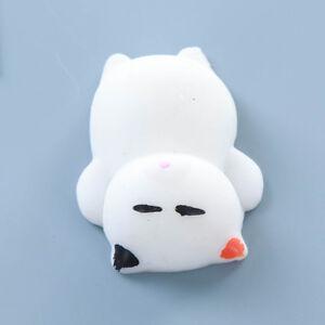 Cute Mochi Squishy Squeeze Healing Fun Kids Kawaii Toy Stress Reliever Decor
