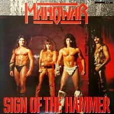 "MANOWAR ""Sign of the hammer"" 1984 JAPAN"