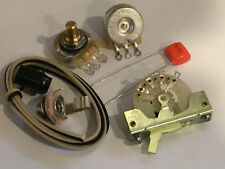 TAOT TELE® Wiring Kit - CTS Pots, CRL 3-way, 047 Orange Drop Cap - Telecaster®