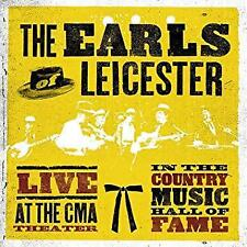 The Earls Of Leicester - Live At The CMA Theatre (NEW CD)