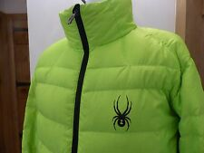 Spyder mens down jacket ski L