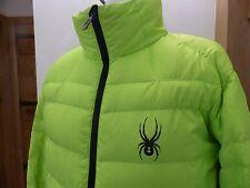 Spyder mens down jacket ski L