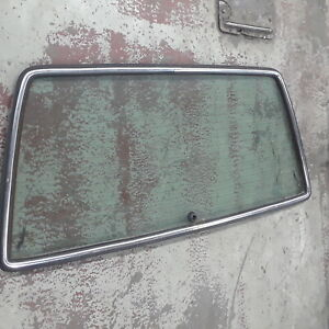 Rear Glass w/ trim for Hatch Tailgate for Mercedes W123 Wagon Only 300TD