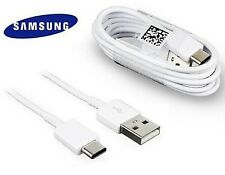 Genuine Samsung Type C Fast Usb Data Cable Charger Lead For Galaxy S8,A5,A3 WHIT