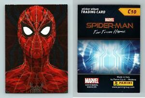 Marvel Spider-Man Far From Home #C10 Panini 2019 Trading Card