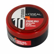 ** 2 X L'OREAL STUDIO XTREME HOLD INDESTRUCTIBLE GEL-GLUE 150ml EACH NUMBER 10