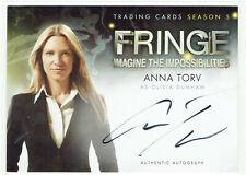 Fringe Season 5 Cryptozoic Autograph Card A1 Anna Torv as Olivia Dunham