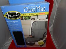 Summer Infant Automotive Seat Protector DuoMat For Car Seat, Black