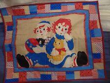 Raggedy Ann & Andy Unisex Nursery Bedding | eBay : raggedy ann quilt pattern - Adamdwight.com
