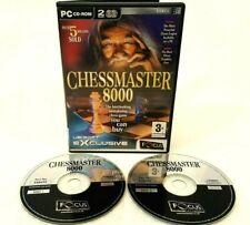 Chessmaster 8000-PC CD ROM-Schachspiel-Ubisoft 2002-getestet und sehr gut