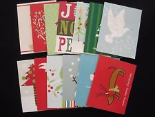 14 FOR CRAFTING Different Collage Applique Christmas Cards THE GIFT WRAP COMPANY