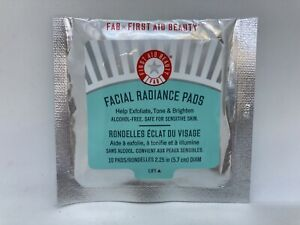 FAB First Aid Beauty Facial Radiance Pads Travel Size Pack 10 Pads