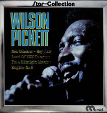 """12"""" LP Wilson Picket Star-Collection (Hey Jude, I`m A Midnight Mover) WEA Midi"""