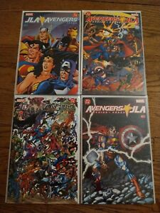 JLA / Avengers 1-4 Complete 2003 Marvel V DC Comics