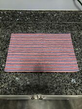 Pier 1 Imports Red White Blue Striped Placemat Nwt Americana Patriotic July 4