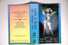 KATE BUSH VHS TAPE THE SINGLE FILE ULTRA RARE ORIGINAL POLAND EDITION