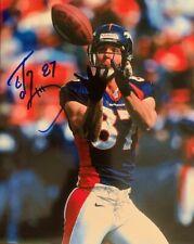 Ed McCaffrey signed 8x10 photo *BRONCOS*