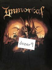 Immortal Damned In Black Vintage 2000 Tour Long Sleeve Xl