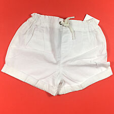 NWT Carter's Girls White Shorts in Size 6