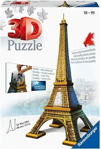 Ravensburger Eiffel Tower 3D Puzzle - Brand New & Sealed