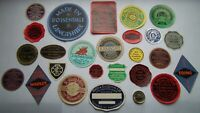 25 DIFFERENT  VERY RARE  UNUSED 1920`S   LUGGAGE  TYPE SEAL  LABELS -one off