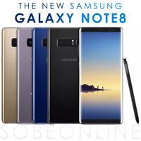 Samsung Galaxy Note 8 SM-N9500 128GB (FACTORY UNLOCKED) Black Gold Blue Gray