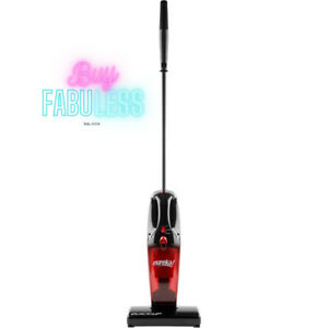 Eureka Stick Vacuum Cleaner Bagless Floor Cleaner with Motorized Brush Roll Red