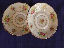 Royal Albert Petit Point SAUCER LOT of TWO 2 have more items to set