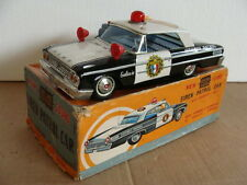 FORD GALAXIE SIREN PATROL CAR POLICE ASC TRADE MARK JAPAN LATTA OLD