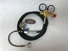 Nitrogen Regulator Kit 800 PSI 8' Rubber Hose Shock Fill Tool No-Loss Fox ORI