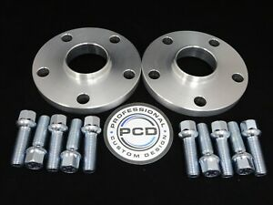 12mm VW ID3  5x112 Hubcentric Spacers 57.1CB 10 RADIUS Bolts FRONT ONLY
