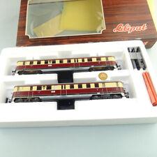 Liliput H0 No 125 02 Triebwagenzug VT 137 VS 145 der DR in OVP #338