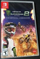 NEW Monster Energy Supercross 2 FIM World Championship Official Switch Videogame