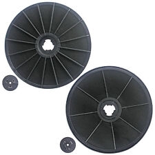 2 x EFF54 Carbon Charcoal Odour Filter for ZANUSSI Cooker Hood Extractor Vent