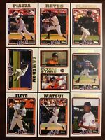 2005 Topps NEW YORK METS Complete Team Set Series 1 & 2 - WRIGHT RC WoW LOOK