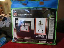 DENVER BRONCOS PEYTON MANNING NFL TWIN COMFORTER SET FOOTBALL