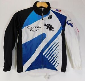 CRESCENTA VALLEY CYCLING JACKET Champion System Champ-Sys Club Cut WOMEN'S SMALL