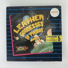 Leather Goddesses of Phobos Atari St Home Computer Infocom Computer Game