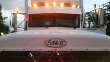 3 Custom Peterbilt 379 Grille Hood Decal Emblems Truck