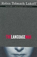 The Language War, Lakoff, Robin Tolmach, Good Condition, Book