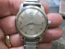 CLEAN DIAL Omega SEAMASTER AUTOMATIC STAINLESS SCREW BACK MEN Running Wristwatch