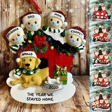 Personalized Christmas Hanging Ornament 2020 Mask Toilet Paper Xmas Family Gifts