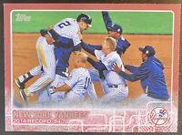 2014 Topps Series 2 New York Yankees #697 Derek Jeter Mother's Day /50 HOF'er