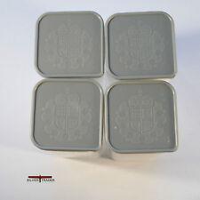4 Genuine 2018 Britannia  Plastic Mint Tubes Holds 25 Coins each (NO COINS)