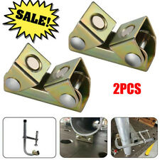 2x Adjustable Magnetic Welding Clamps V Pads Fixture Holder Strong Welder Hand