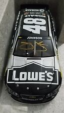 2015 JIMMIE JOHNSON #48 Autographed Kobalt Tools Lowe's 1/24th 1201 Produced