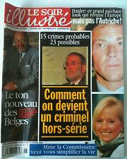 Le Soir illustré du 9/02/2000; Haider/ Comment ont devient criminel hors-série