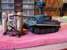 Radio Controlled Model Battle Tank Green Camo Remote & Charger 2.4 ghz