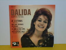 "SINGLE 7"" - DALIDA - JE L'ATTENDS - EP"