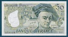 FRANCE - 50 FRANCS QUENTIN DE LA TOUR Fayette ° 67.1 de 1976 en SPL  U.1 278219
